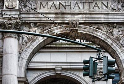 Manhattan Print by Joanna Madloch