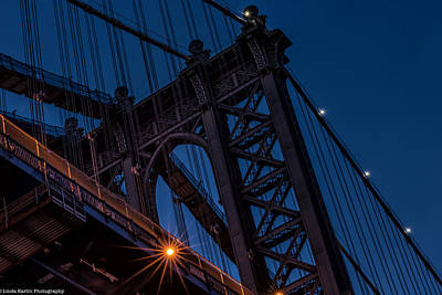 Art Print featuring the photograph Manhattan Light by Linda Karlin