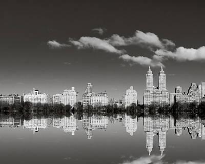 Photograph - Manhattan Mirror by Irene Suchocki