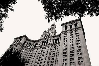 Photograph - Manhattan Municipal Building by Liza Dey