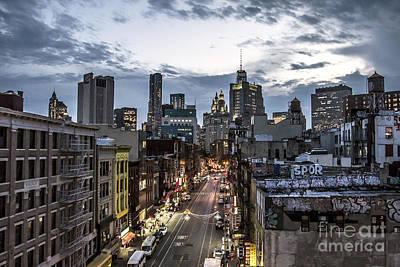 Photograph - Manhattan Nights by Steven K Sembach