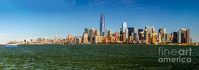 Photograph - Manhattan Panoramic by Nick Zelinsky