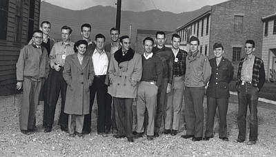 Gino Photograph - Manhattan Project, Segr�s Group by Science Source