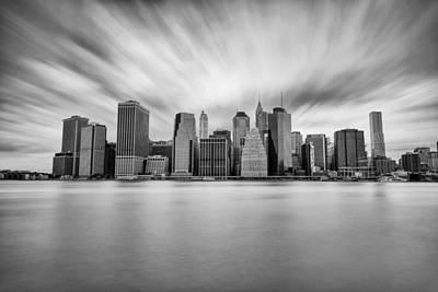Photograph - Manhattan Shadows by Mark Robert Rogers
