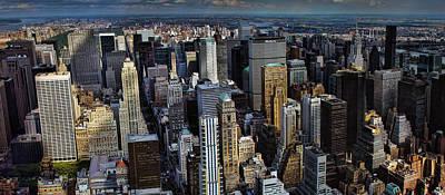 Photograph - Manhattan Skyline 5 by New York