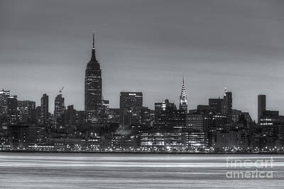 Photograph - Manhattan Skyline And Pre-sunrise Sky II by Clarence Holmes