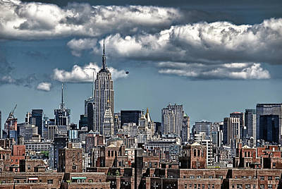 Manhattan-skyline Art Print by Joachim G Pinkawa