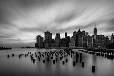 Manhattan Sunset Original by Margarethe Jaeger