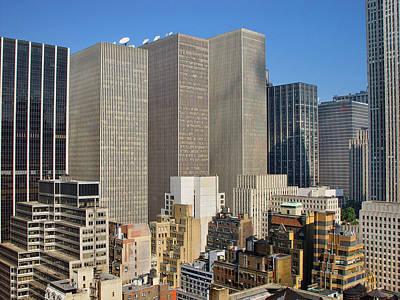 Photograph - Manhattan Urban Jungle by New York
