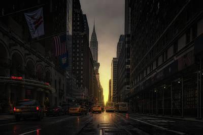 View Photograph - Manhattanhenge by David Mart?n Cast?n