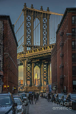 Manhatten Bridge Original by Steve Miller