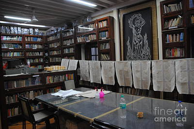 Photograph - Mani Bhavan Library Gandhi Residence by Jacqueline M Lewis