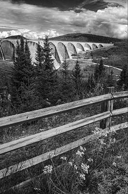 Photograph - Manic 5 Dam  by Arkady Kunysz