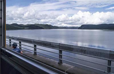 Photograph - Manicouagan Reservoir From Atop The Manic 5 Dam by Arkady Kunysz