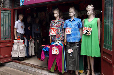 Photograph - Manikin City by Robert Watson