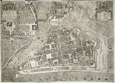 Cartography Photograph - Manila by British Library
