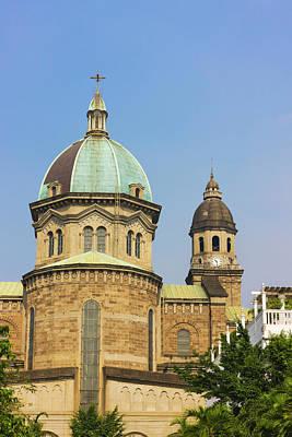 Manila Photograph - Manila Metropolitan Cathedral, Manila by Keren Su