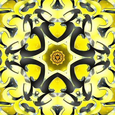 Digital Art - Manipura Separation by Derek Gedney