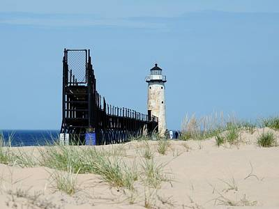 Photograph - Manistee North Pierhead Lighthouse by Keith Stokes