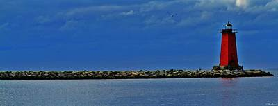 Photograph - Manistique Lighthouse by Burland McCormick