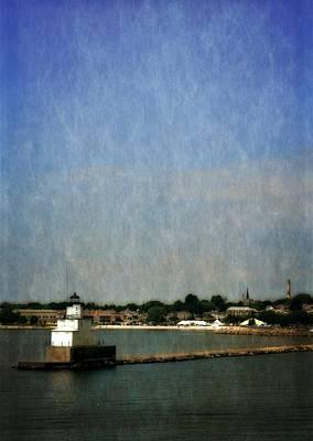 Manitowoc Breakwater Light 2.0 Print by Michelle Calkins