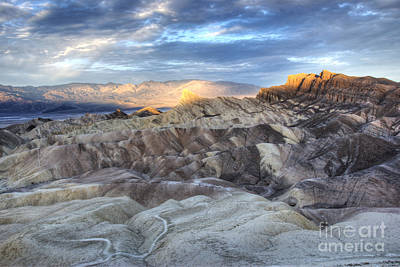 Panamint Valley Photograph - Manly Beacon by Juli Scalzi