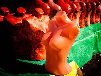 Abstract Female Torso Photograph - Mannequeen by Alexander Senin