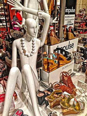 Photograph - Mannequin At Macys by Alice Gipson