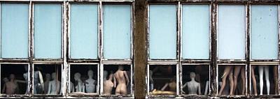 Doll Photograph - Mannequin Challenge ? by Jef Flour