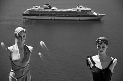 B Photograph - Mannequin Dolls by George Atsametakis