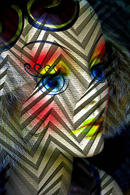 Photograph - Mannequin Face by Carlos Diaz