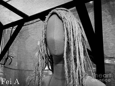Photograph - Mannequin Girl Horizontal by Fei Alexander