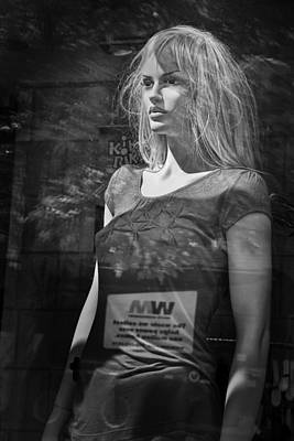 Photograph - Mannequin In A Window Display by Randall Nyhof