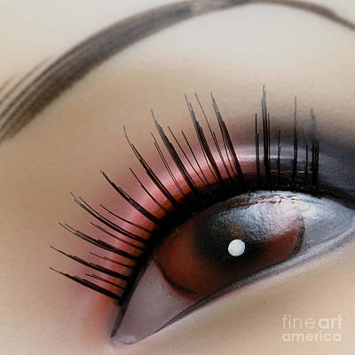 Eye Makeup Photograph - Mannequin Study 2 by Amy Cicconi