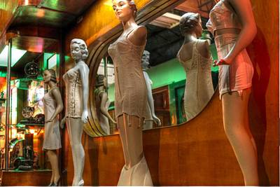 Panty Photograph - Mannequins by Jane Linders