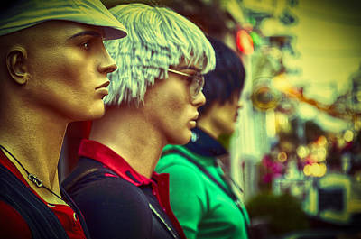 Emotions Photograph - Mannequins by Yevgeni Kacnelson