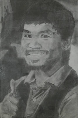 Drawing - Manny Pacquiao by Terence Leano
