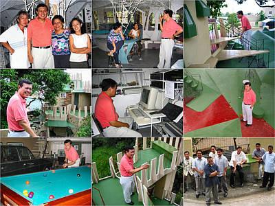 Photograph - Mannyv-cynthiav Imus Visit 2008 by Glenn Bautista