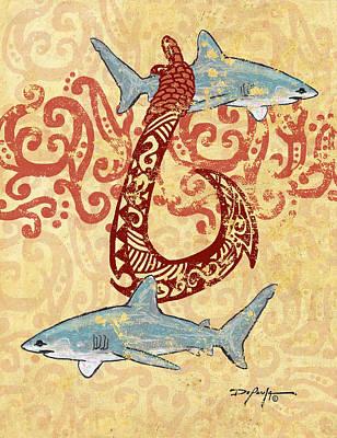 Mano Makau  Art Print by William Depaula