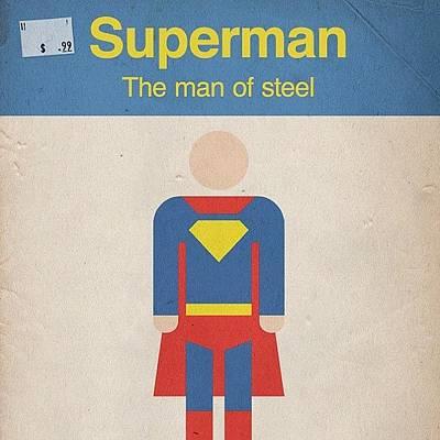 Steel Photograph - #manofsteel #steel #man #superman #hero by Katie Ball
