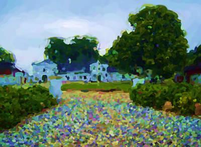 Digital Art - Manor House Merringgaard by Asbjorn Lonvig