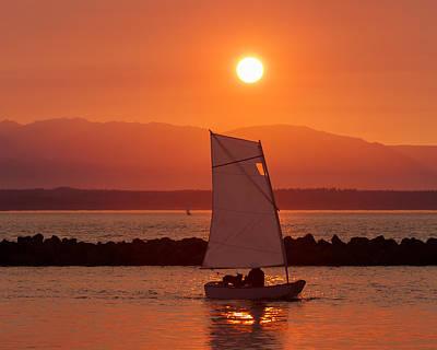 Best Sailing Photograph - Mans Best Friend by Scott Campbell