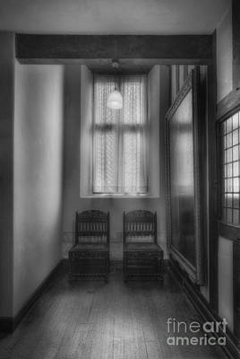 Photograph - Mansion Hallway by Ian Mitchell