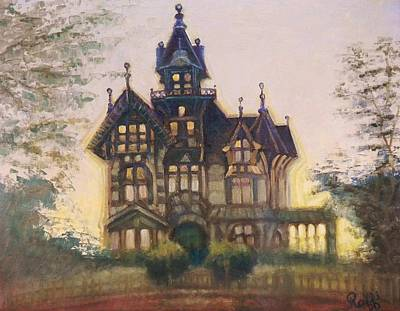 Mansion In Eureka Art Print by Raffi Jacobian