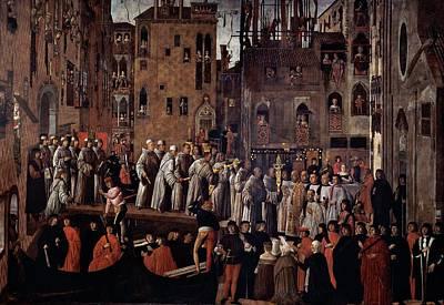 Mansueti Giovanni, Miracle Of The Relic Art Print