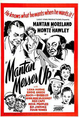 Mantan Messes Up, Us Poster, Top Art Print