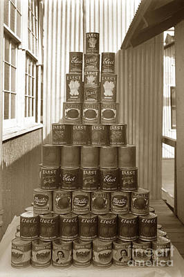 Photograph - Manteca Packing Company California Circa 1920 by California Views Mr Pat Hathaway Archives