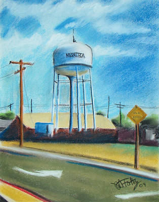 Painting - Manteca Tower by Michael Foltz