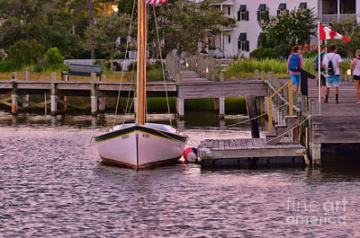 Photograph - Manteo Harbor by Allen Beatty
