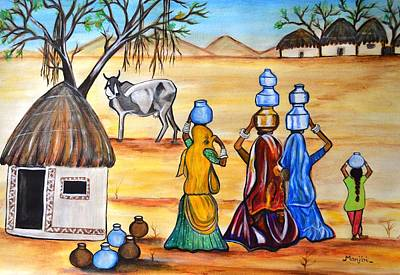 Manthan-gujrat Women Empowermenmt Original by Manjiri Kanvinde